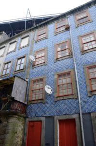 Tegels in Porto