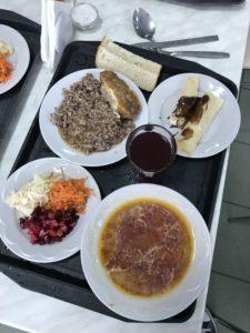 Lunch in Tsjernobyl