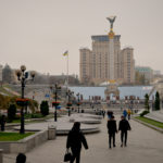 Maidan, het centrale plein van Kiev