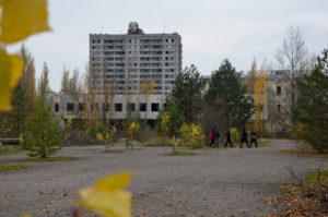 Prypjat nabij Tsjernobyl